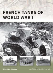 New Vanguard 173 - French Tanks of World War I