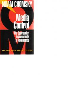 Noam Chomsky Media Control