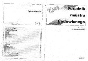 Nowy Poradnik Majstra Budowlanego cz.3