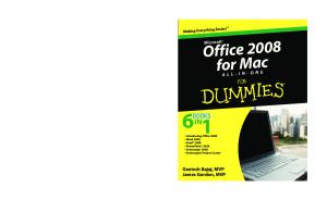Office 2008 for Mac All-in-One for Dummies (ISBN - 0470460415)