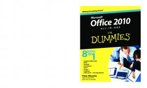 Office 2010 All-in-One for Dummies (ISBN - 0470497483)