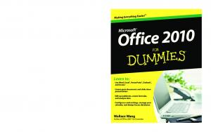 Office 2010 for Dummies (ISBN - 0470489987)