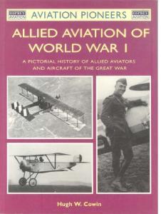 Osprey - Aviation Pioneers 05 - Allied Aviation of World War I