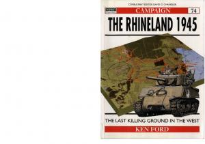 Osprey - Campaign - 074 - 2000 - The Rhineland 1945 - The last killing Ground in the West