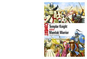 Osprey - Combat 016 - Templar Knight vs Mamluk Warrior 1218-1250