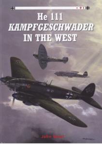 Osprey - Combat Aircraft 091 - He-111 Kampfgeschwader in the West