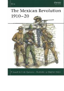 Osprey - Elite 137 - The Mexican Revolution 1910-20