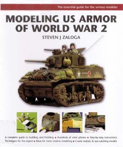 Osprey - Modelling Masterclass - Modeling US Armor of World War 2