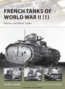 Osprey - New Vanguard 209 - French Tanks Of World War II