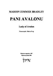 Pani Avalonu - 3