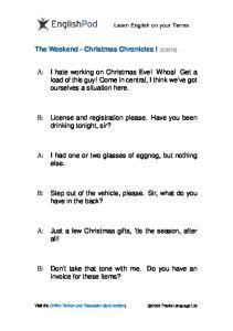 PDF - Intermediate - Christmas Chron 1
