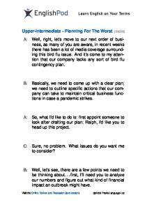 PDF - Upper Intermediate - Planning