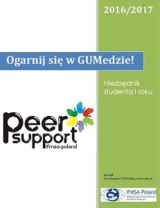 Peer Support lekarski 2016-2017
