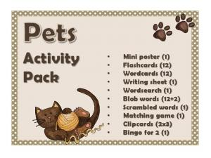 Pets Activity Pack