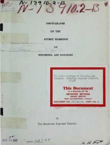 Photographs of the Atomic Bombings of Hiroshima and Nagasaki (History Photography Ebook)