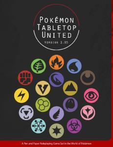 Pokemon Tabletop United 1.05 Core