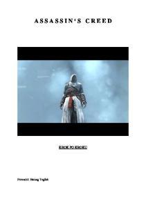 Poradnik do Assassins Creed PL