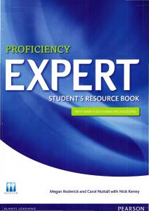 Proficiency Expert Students resource book (workbook)