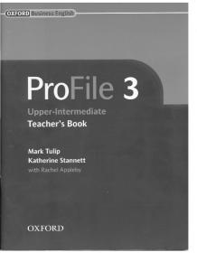PROFILE 3 Teachers Book