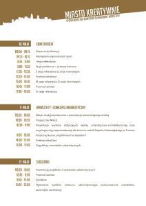 Program ramowy konferencji a3