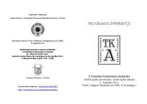 Program V TKA