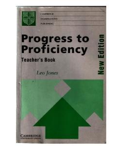 Progress to Proficiency Teachers Book