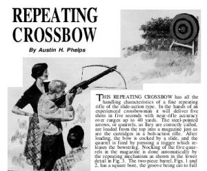 Repeating crossbow plans