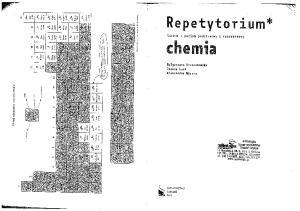 REPETYTORIUM CHEMIA - Krzeczkowska, Loch, Mizera