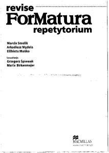 Revise For Matura repetytorium