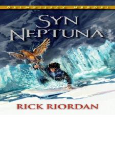 Riordan Rick - Bogowie Olimpijscy Tom 2 - Syn Neptuna1