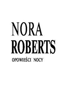 Roberts Nora - Opowieci nocy 01 - Nocny klub