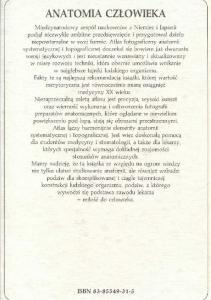 Rochen J.W. Yokochi C. - Anatomia czlowieka. Atlas fotograficzny - Spi