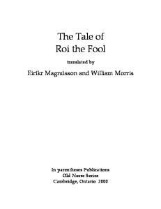 Saga of Roi the Fool