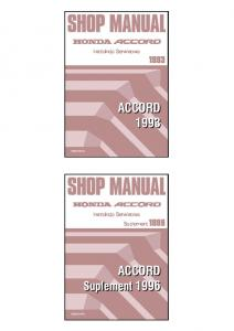 Sam Naprawiam Honda Accord 1993-1996 [PL]