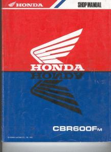 Sam Naprawiam Honda CBR600Fm 89-90 [ENG]