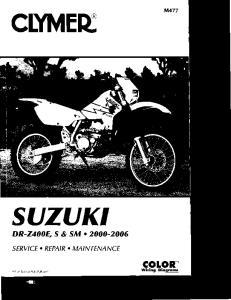 Sam Naprawiam Honda DR-Z400 [ENG]
