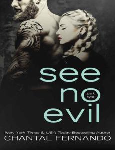 See No Evil Part Two - Chantal Fernando