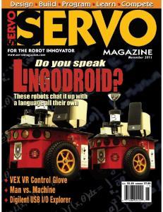 Servo Magazine 11-2011