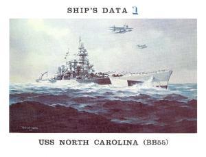 Ships Data 01 - USS North Carolina (BB-55)
