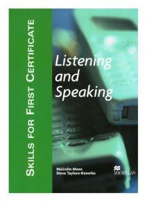 Skills for FCE-Listening and Speaking SB