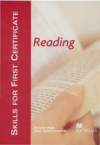 Skills for FCE Reading SB