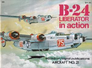 Squadron Signal 1021 B-24 Liberator