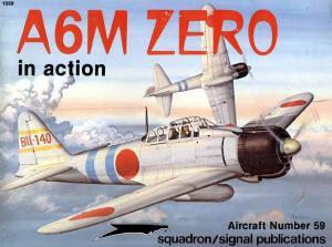Squadron Signal 1059 A6M Zero