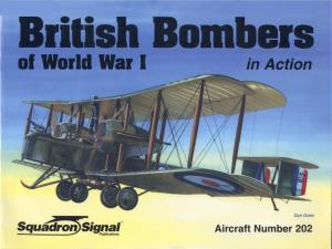 Squadron Signal 1202 British Bombers in WWI