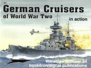 Squadron Signal 4024 German Cruisers of World War 2