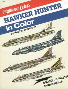 Squadron Signal 6506 Hawker Hunter in color
