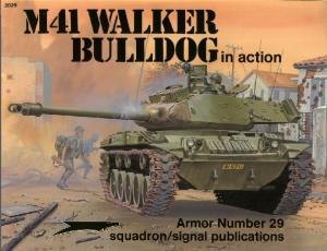 [Squadron-Signal] - [In Action 029] - M41 walker buldog in action