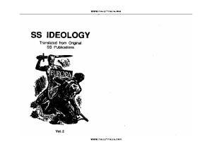 SS Ideology vol. 2