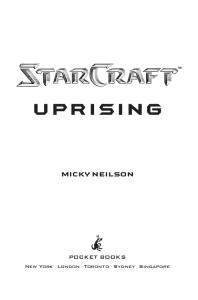 StarCraft - (2000) Uprising - Micky Neilson