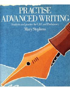 Stephens - Practise Advanced Writing